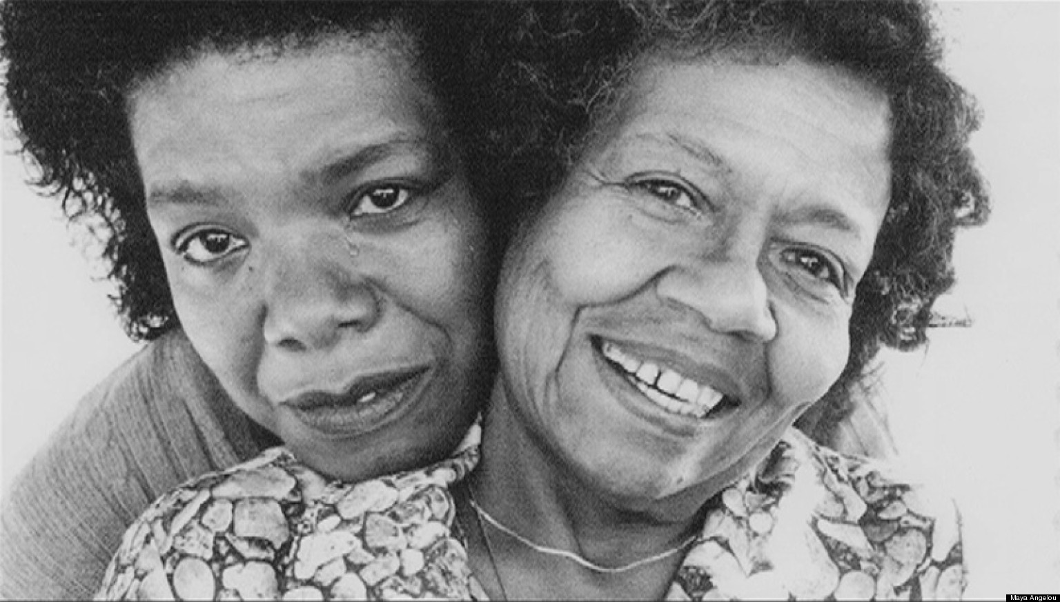 Maya Angelou-and-his-anya-Vivian Baxter