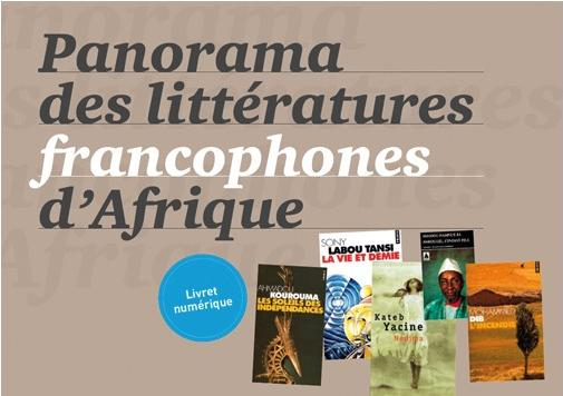 Panorama litteratures francophones