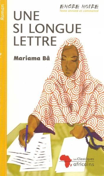 le livre une si longue lettre de mariama ba