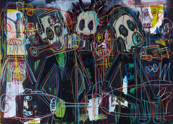 Vente aux ench res art contemporain africain et de la for Acheter art contemporain