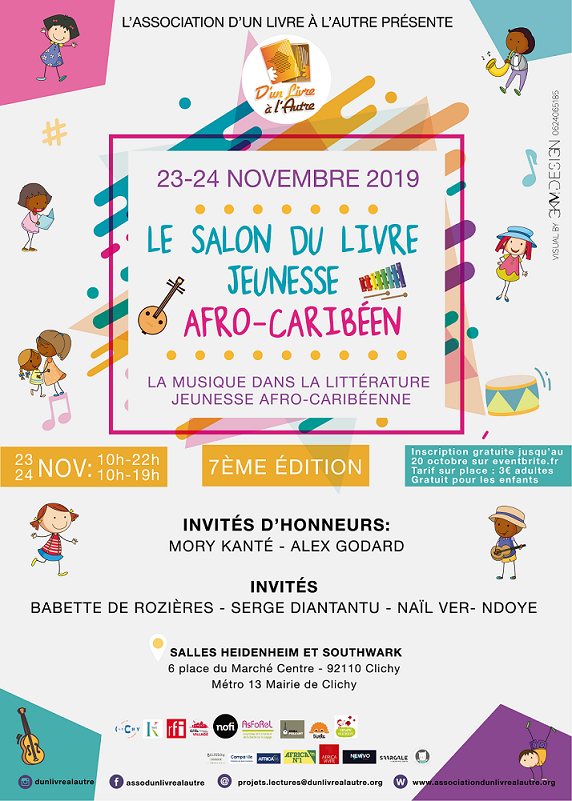 7eme Edition Du Salon Du Livre Jeunesse Afro Caribeen