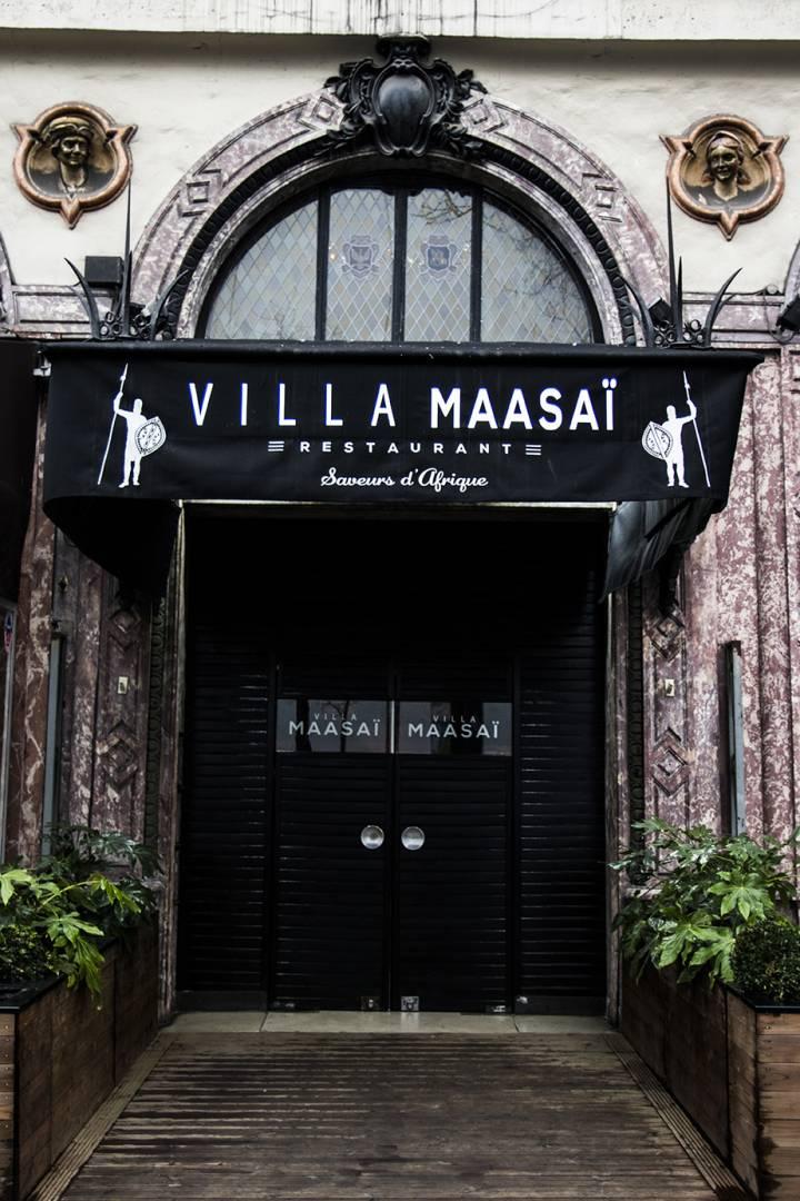 Villa Maasaï Le Plus Grand Restaurant Africain De Paris