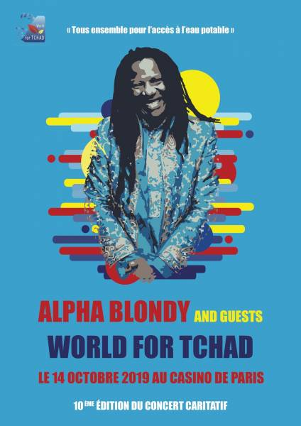 Concert WORLD FOR TCHAD avec Alpha Blondy and guests