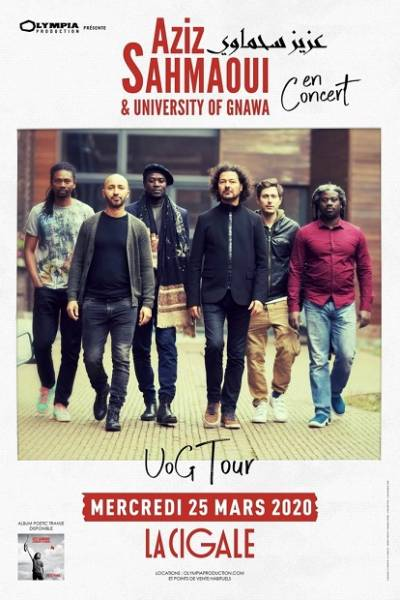 AZIZ SAHMAOUI & University of Gnawa en tournée
