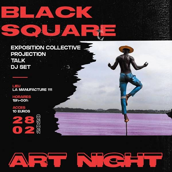 BLACK SQUARE ART NIGHT dédié aux artistes émergents afro-descendants