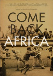 Come Back Africa de Lionel Rogosin