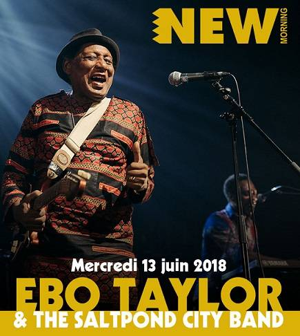 Ebo Taylor & The Saltpond City Band en concert