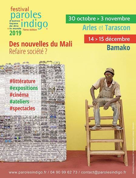 La 7éme édition du festival PAROLES INDIGO invite le Mali