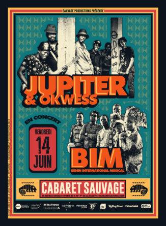 BENIN INTERNATIONAL MUSICAL (BIM) + JUPITER & OKWESS en concert