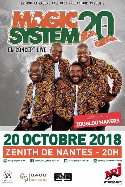 Magic System au Zénith de Nantes