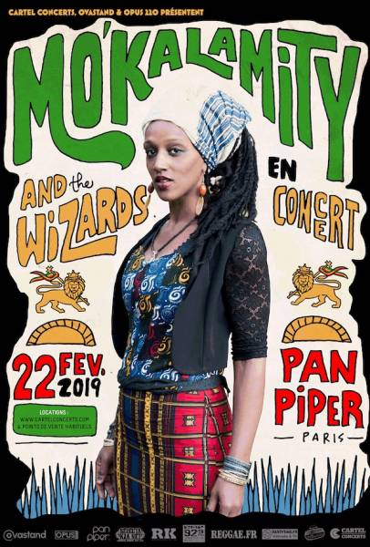 Mo' Kalamity and The Wizards en concert