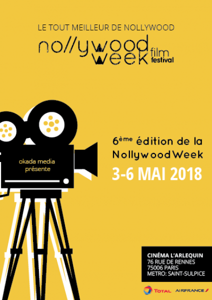 Le festival Nollywood Week revient du 3 au 6 mai 2018